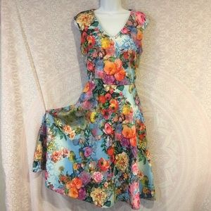 NEW YORK&COMPANY size M sleeveless midi dress.